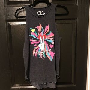 chaser woodstock tank top